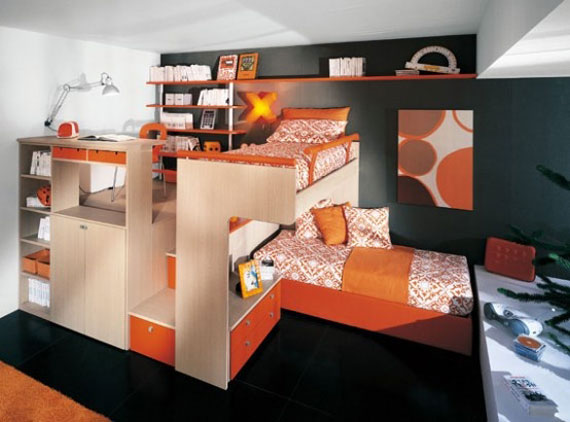 Bunk bed ideas for boys and girls 58 best bunk beds designs for Best beds for teenager