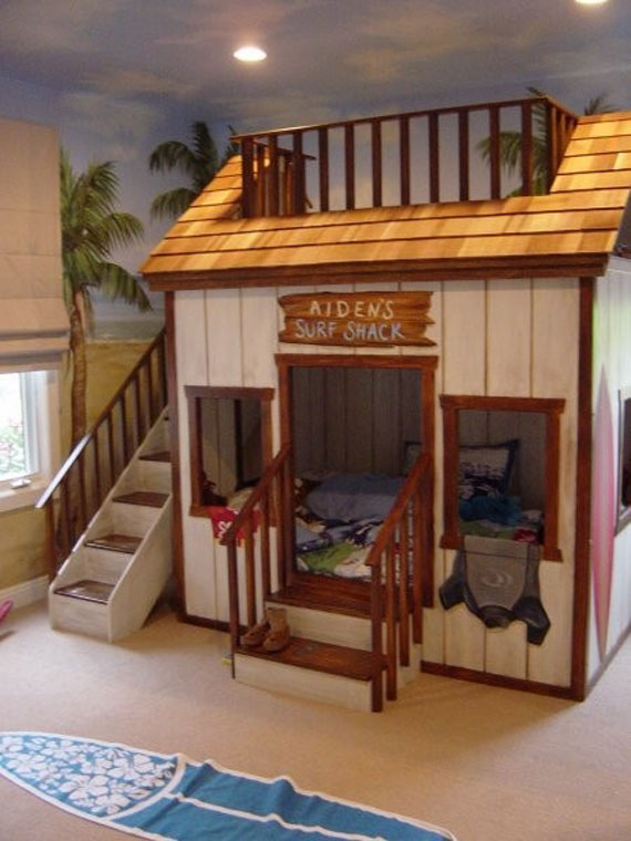 Bunkbed Ideas bunk beds design ideas for kids (58 best pictures)