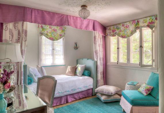 Fete10 Colorful Girls Rooms Design U0026 Decorating Ideas (44 Pictures)