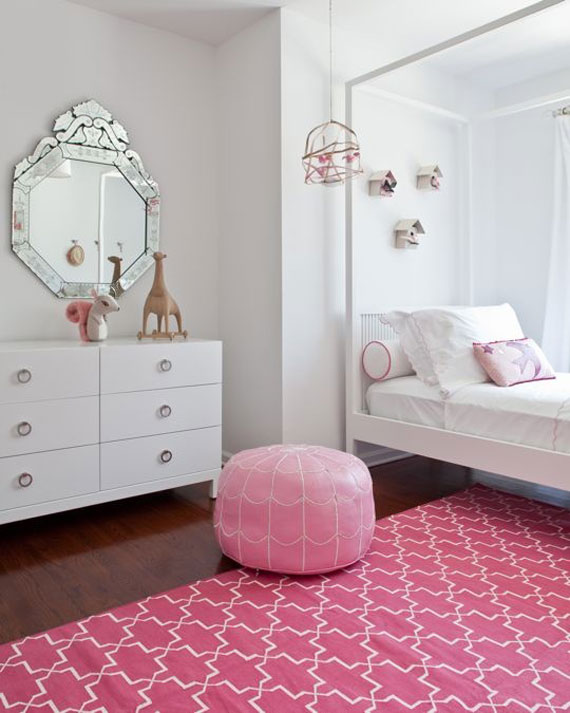 Fete17 Colorful Girls Rooms Design U0026 Decorating Ideas (44 Pictures)