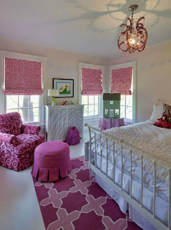 Fete23 Colorful Girls Rooms Design U0026 Decorating Ideas (44 Pictures)