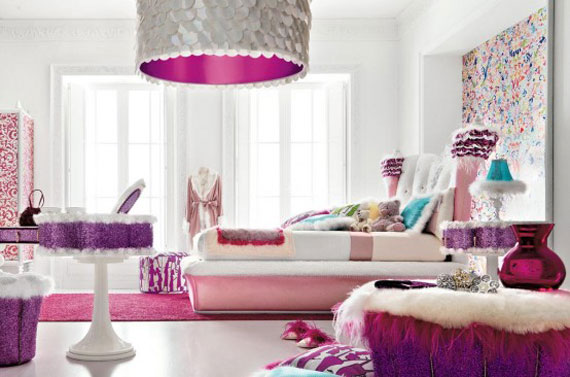 Colorful Girls Rooms Decorating Ideas - 36 Pictures 26