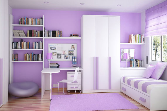 Fete34 Colorful Girls Rooms Design U0026 Decorating Ideas (44 Pictures)