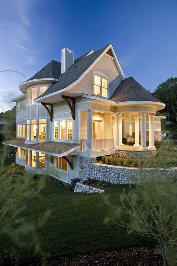 Good Case36 Dream House Architecture Designs (54 Pictures Of Dream Houses)