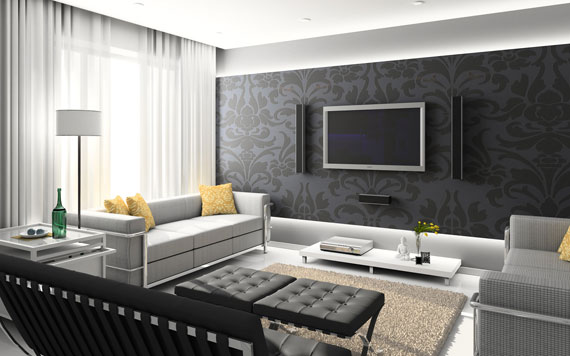 Secrets to creating a chic family room