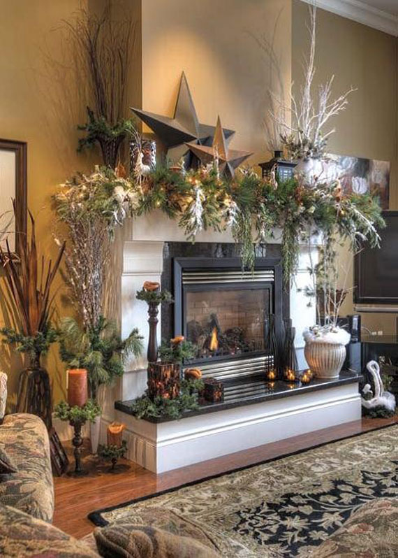 Decorating The Tree And House For Christmas With Beautiful Decorations 32