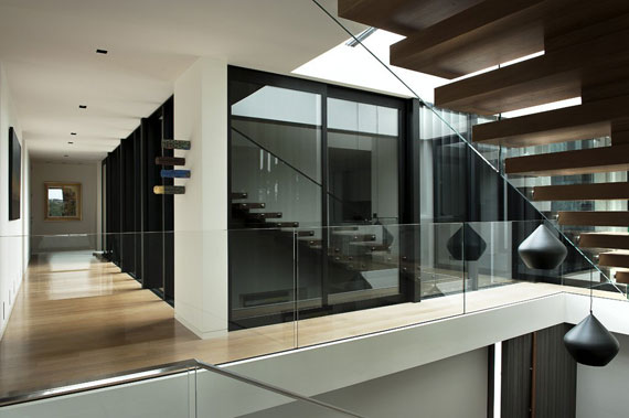 Cls16 Modern Black And White Dream Home Lucerne House By Daniel Marshall Architects