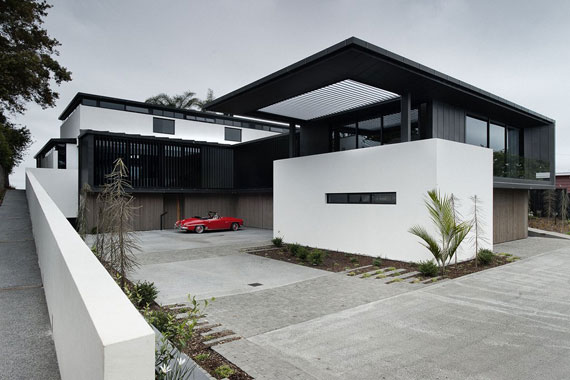 Cls2 Modern Black And White Dream Home Lucerne House By Daniel Marshall Architects