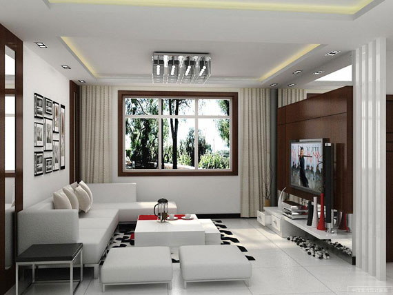 Interior Design Examples Of Contemporary Living Rooms 22