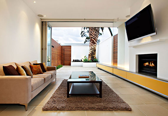 Interior Design Examples Of Contemporary Living Rooms