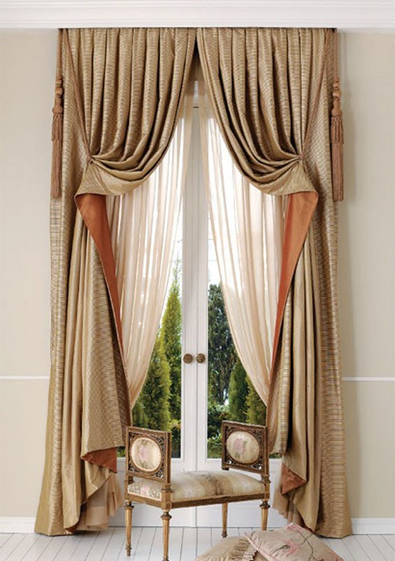 C17 Impressive Curtains, Window Treatments And Decorations   35 Pictures