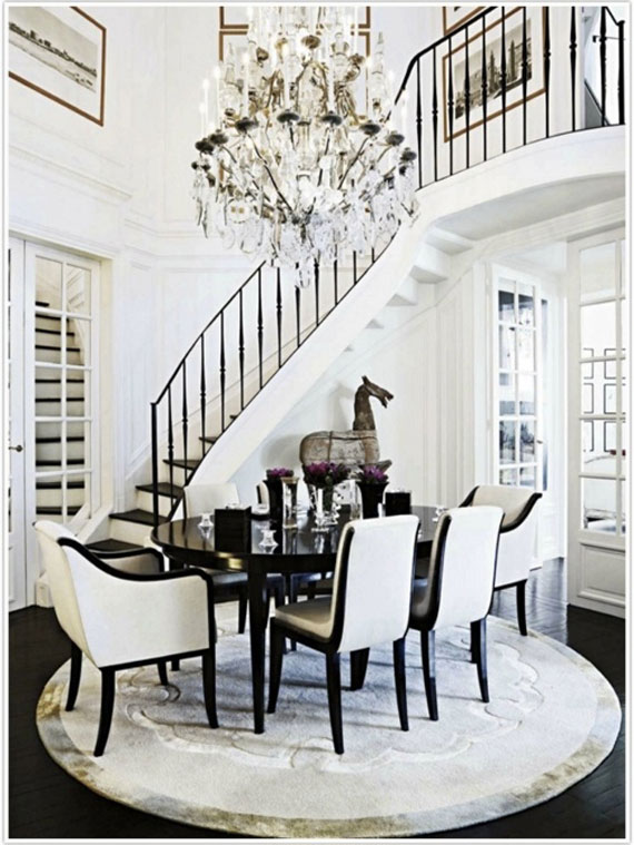 D22 How To Decorate An Elegant Dining Room 57 Examples