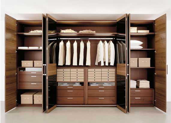 Useful Design Ideas To Organize Your Bedroom Wardrobe Closets 31