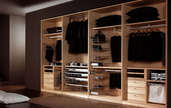 Interior Wardrobe Design Ideas For Your Bedroom (46 Images)