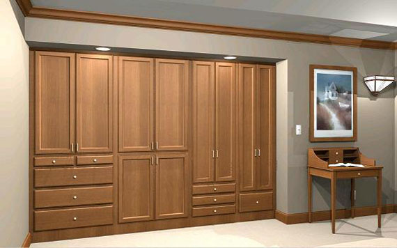useful design ideas to organize your bedroom wardrobe closets 7 - Cabinet Designs For Bedrooms