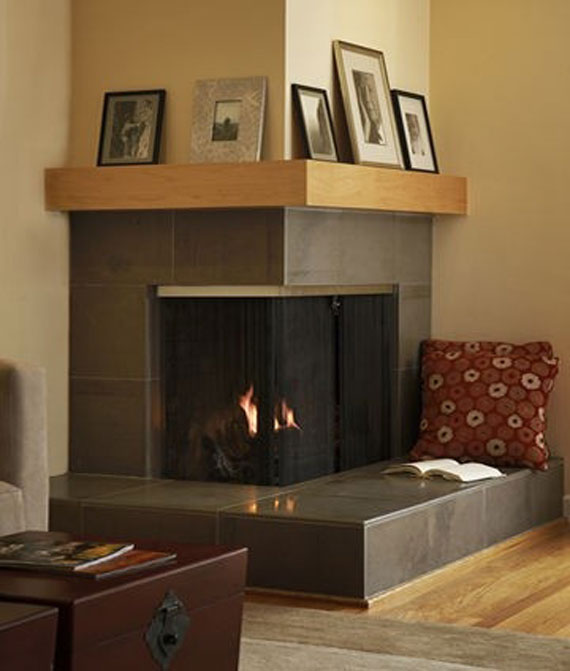 modern and traditional fireplace design ideas 35 photos 10 - Corner Fireplace Design Ideas