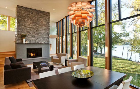 Modern And Traditional Fireplace Design Ideas - 35 Photos 11