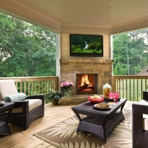 Modern And Traditional Fireplace Design Ideas - 35 Photos 17