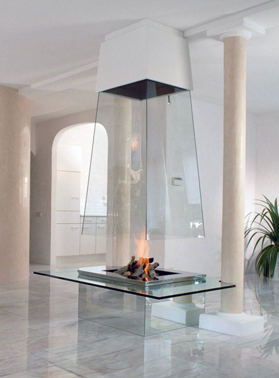 Modern And Traditional Fireplace Design Ideas - 35 Photos 20