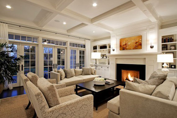 Modern And Traditional Fireplace Design Ideas - 35 Photos 22