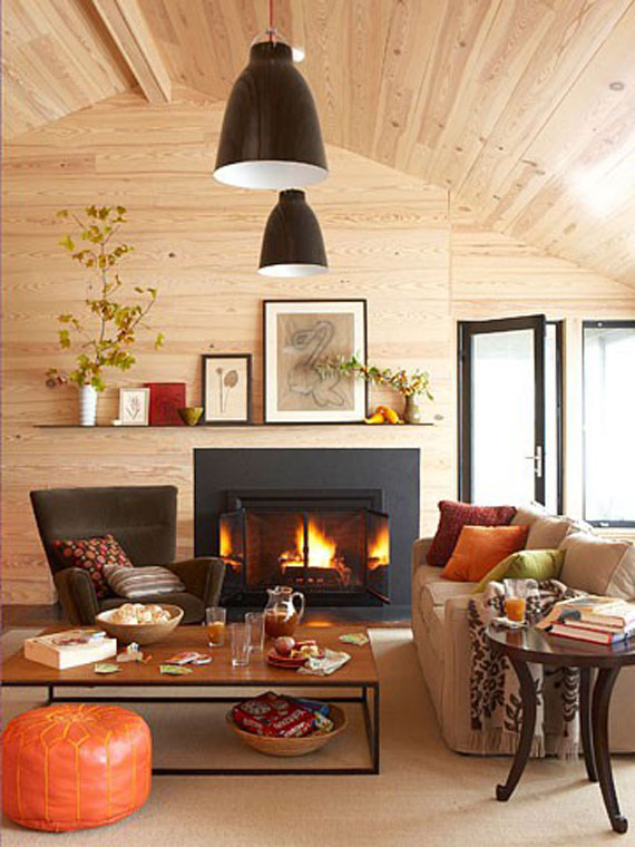 Modern And Traditional Fireplace Design Ideas - 35 Photos 24