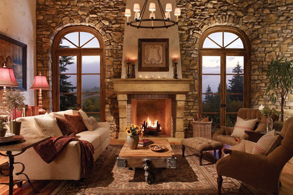 Modern And Traditional Fireplace Design Ideas - 35 Photos 26