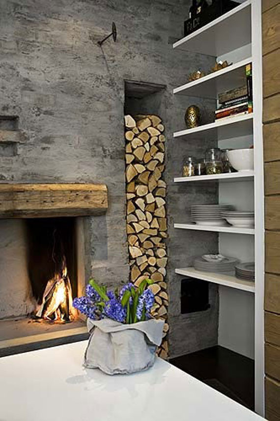 Fireplace ideas aren