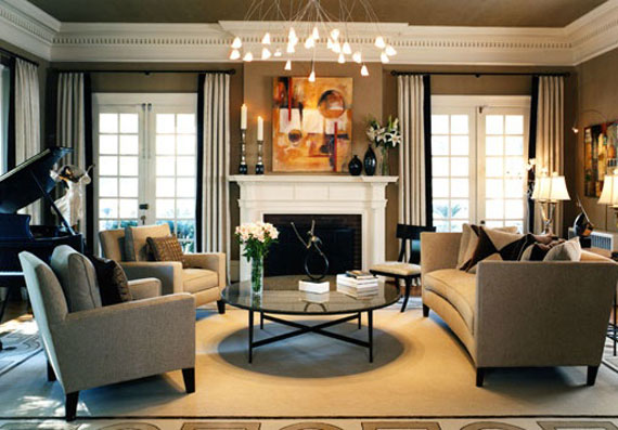 Modern And Traditional Fireplace Design Ideas - 35 Photos 31