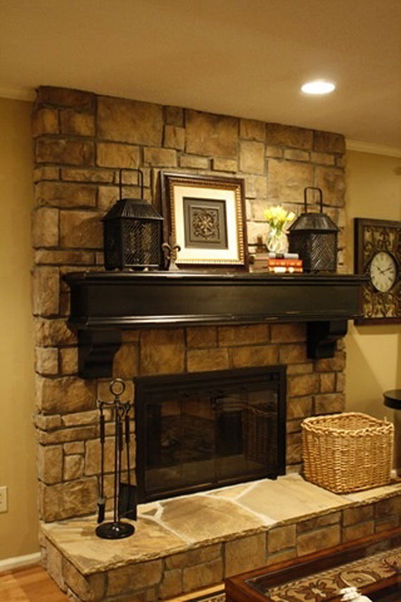 Inside Fireplace Decor modern and traditional fireplace design ideas (45 pictures)