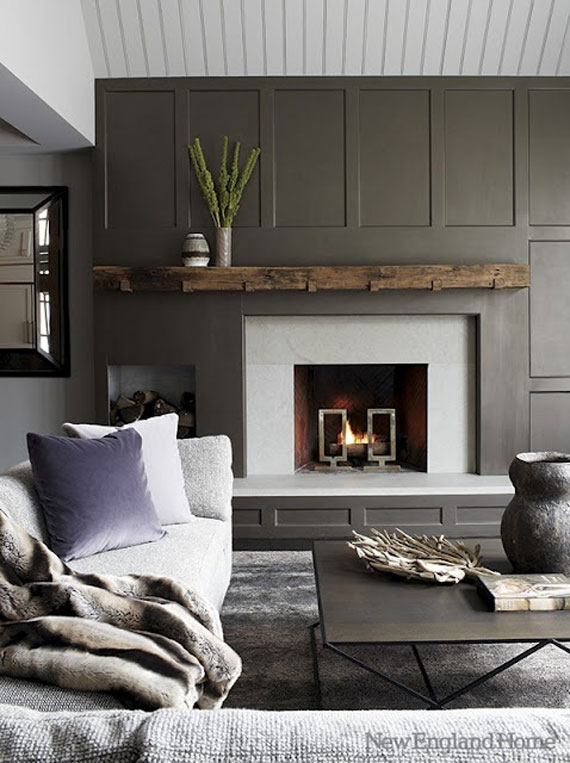 f33 Fireplace Ideas: 45 Modern And Traditional Fireplace Designs