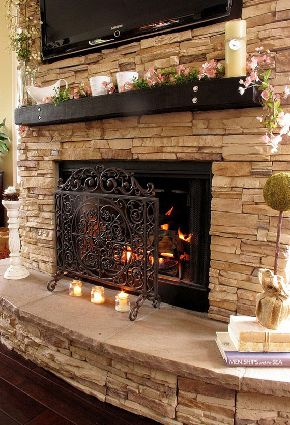 f35 Fireplace Ideas: 45 Modern And Traditional Fireplace Designs