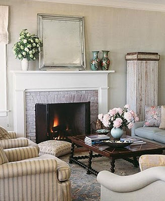 Modern And Traditional Fireplace Design Ideas - 35 Photos 4