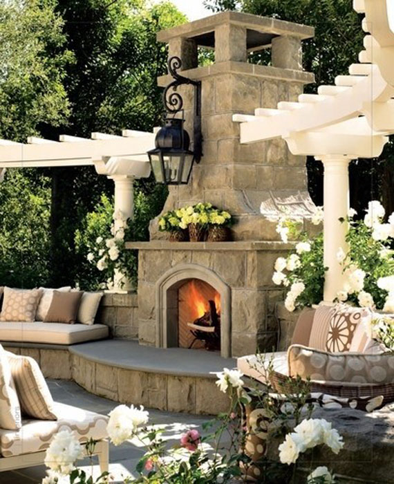 Modern And Traditional Fireplace Design Ideas - 35 Photos 5