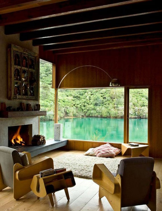 Modern And Traditional Fireplace Design Ideas - 35 Photos 6