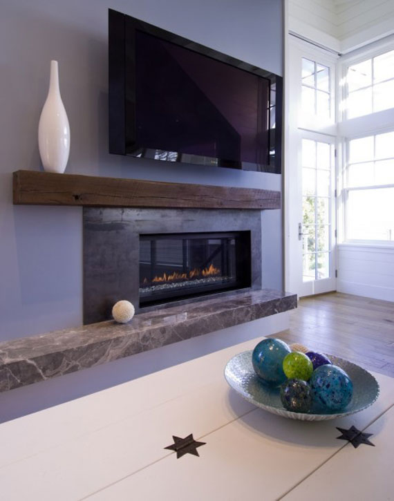Modern And Traditional Fireplace Design Ideas - 35 Photos 8