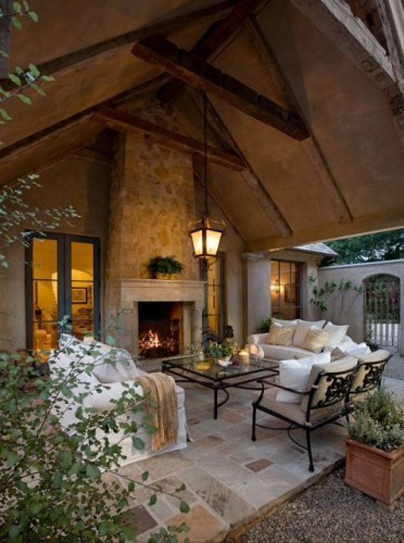 Modern And Traditional Fireplace Design Ideas - 35 Photos 9