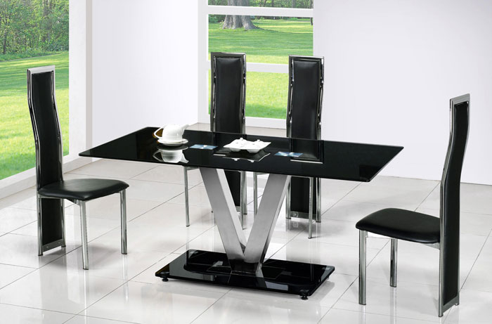 67958800212 Glass Dining Room Tables To Add A Contemporary Touch To Your  Interior Design
