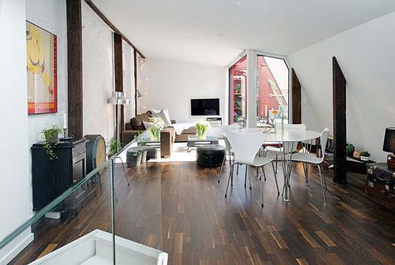 Swedish Interior an example of beautiful swedish interior design - apartment in