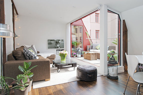 Swedish Apartment Design an example of beautiful swedish interior design - apartment in