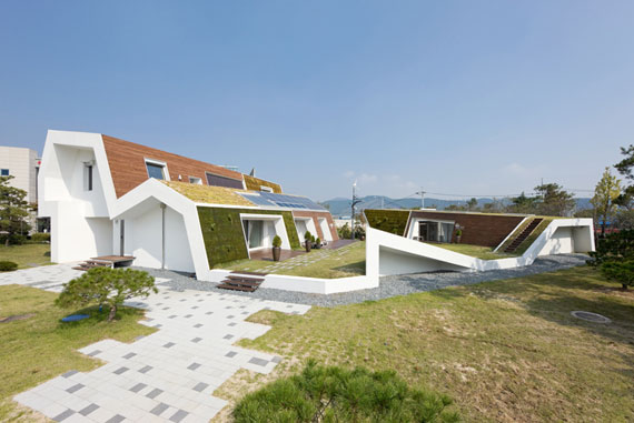 E+ Green Home 1 sustainable architecture by Unsangdong Architects