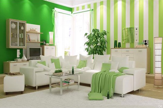 G6 Green Living Room Design Ideas Decorations And Furniture