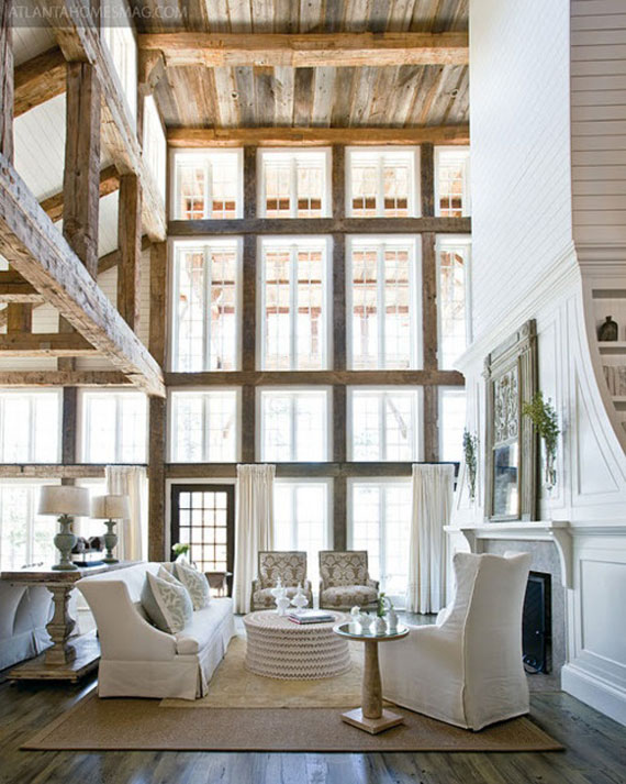 C16 High Ceiling Rooms And Decorating Ideas For Them