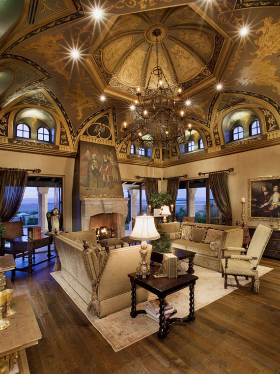 C18 High Ceiling Rooms And Decorating Ideas For Them