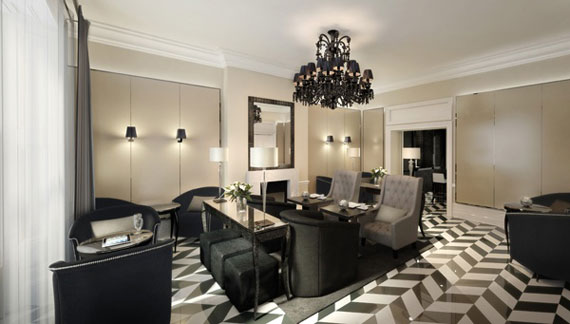Eccleston Square Hotel London United Kingdom Modern Interior Design And