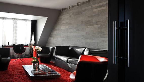 Hotel Sezz Paris France Modern Interior Design And Decor Ideas 54