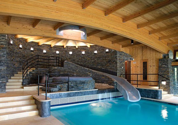 piscina12 best 46 indoor swimming pool design ideas for your home - Cool Indoor Pools In Houses