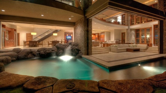 best 46 indoor swimming pool design ideas for your home - Cool House Indoor Pools