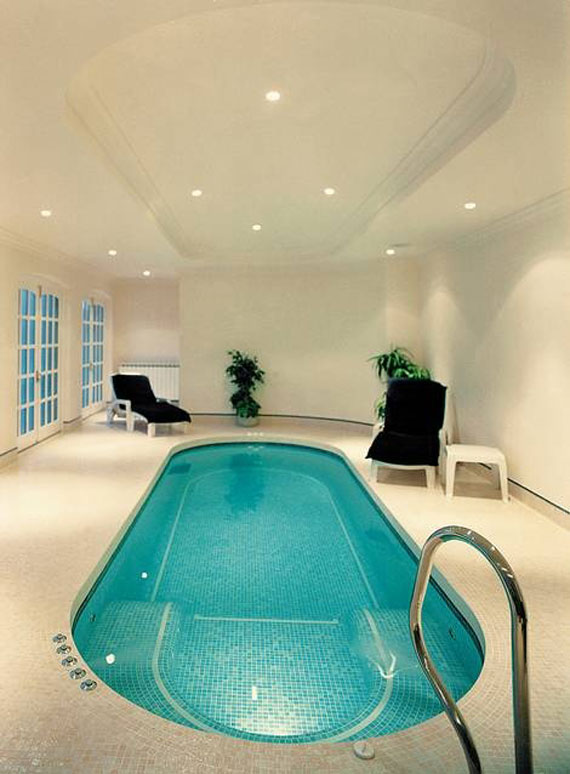 indoor pool house indoor swimming pool design ideas for your home 13 - Indoor House Pools