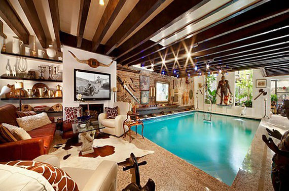 Lovely Piscina26 Best 46 Indoor Swimming Pool Design Ideas For Your Home