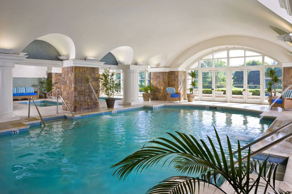 Indoor House Pools - Interior Design